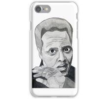 Walken (White) iPhone Case/Skin