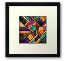 Colorful City Night Framed Print