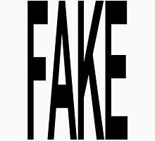 FAKE Mens V-Neck T-Shirt
