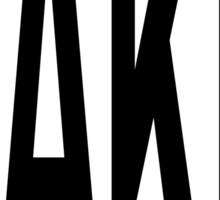 FAKE Sticker