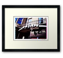 Asian spice Framed Print