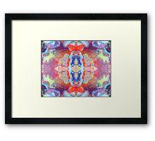 Scarab Dawn (Spiderweb Jasper) Framed Print