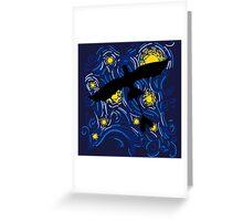 NightFury Sky Greeting Card