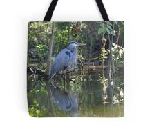 Great Blue Heron Dead River, Florida Tote Bag