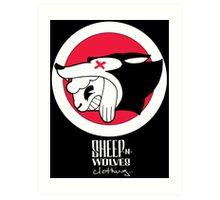 Sheep-n-Wolves Clothing Logo Art Print