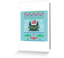 Berk Christmas Greeting Card