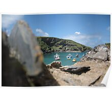 The Bay in Port Isaac Poster