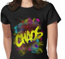 chaos Womens Fitted T-Shirt