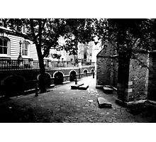 The yard of Temple Church Photographic Print
