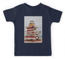 lifeguard tower Kids Tee