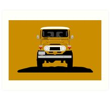 The classic offroader Art Print