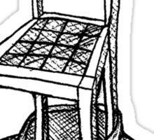 Chairface Sticker