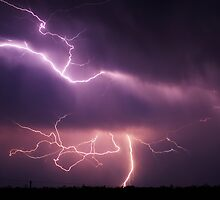 Condamine Lightning by SouthBrisStorms