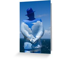 You become your thoughts Greeting Card