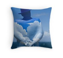You become your thoughts Throw Pillow
