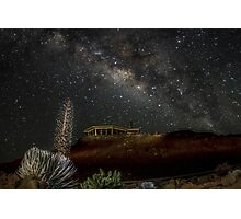 Milky Way over Haleakala Photographic Print