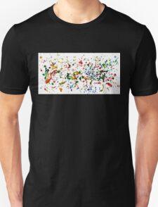 Colorful Aquarelle Unisex T-Shirt