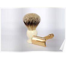 Shaving kit Poster