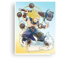 Thor- Raijin Style  Metal Print