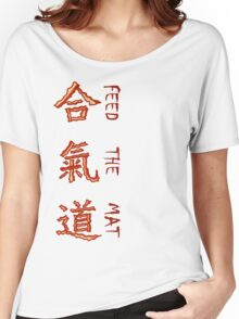 Aikido - The Way Of Bacon Women's Relaxed Fit T-Shirt