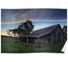 Hay Shed, Cradoc, Tasmania #2 Poster