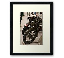 Restored WWII Transportation Framed Print