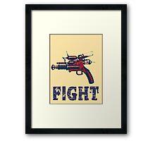 FIGHT steam punk science fiction gun 2012 Framed Print
