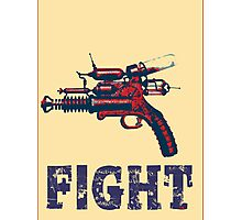 FIGHT steam punk science fiction gun 2012 Photographic Print