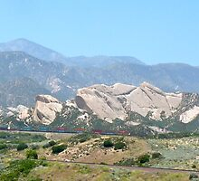 Palmdale Mountains by skyhat