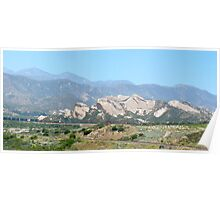 Palmdale Mountains Poster