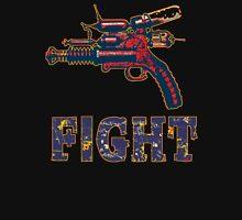 FIGHT steam punk science fiction gun 2012 Womens Fitted T-Shirt