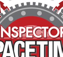 Inspector Spacetime Blorgon Edition Sticker Sticker
