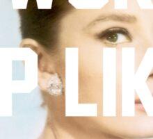 Audrey Hepburn- I woke up like this Sticker