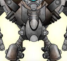 Warrior Robot Sticker