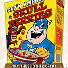 Cap'n America cereal with Skull Berries by andyjhunter