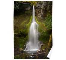 Marymere Falls Poster