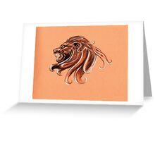 zodiac-leo Greeting Card