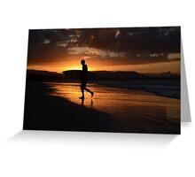 surf Byron Bay Greeting Card