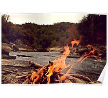 riverside fire Poster
