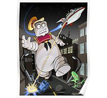 Stay Zapt Marshmallow Man Poster
