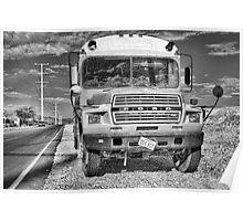 Abandon Bus Poster