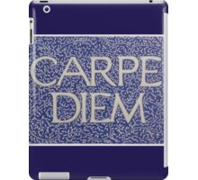 Carpe Diem Light Blue iPad Case/Skin