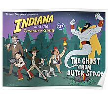 Indiana and the Treasure Gang in The Ghost From Outer Space Poster