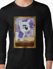 Rarity, Element of Generosity Long Sleeve T-Shirt