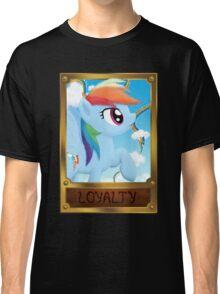Rainbow Dash, Element of Loyalty Classic T-Shirt