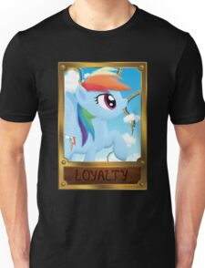 Rainbow Dash, Element of Loyalty Unisex T-Shirt