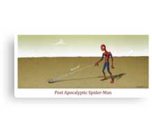 Post Apocalyptic Spider-Man Canvas Print