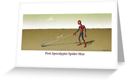 Post Apocalyptic Spider-Man by andyjhunter