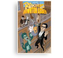 The Rescuers Downton Abbey Canvas Print