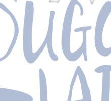 Dugong Lady Sticker